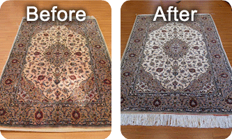 silk rug cleaning service